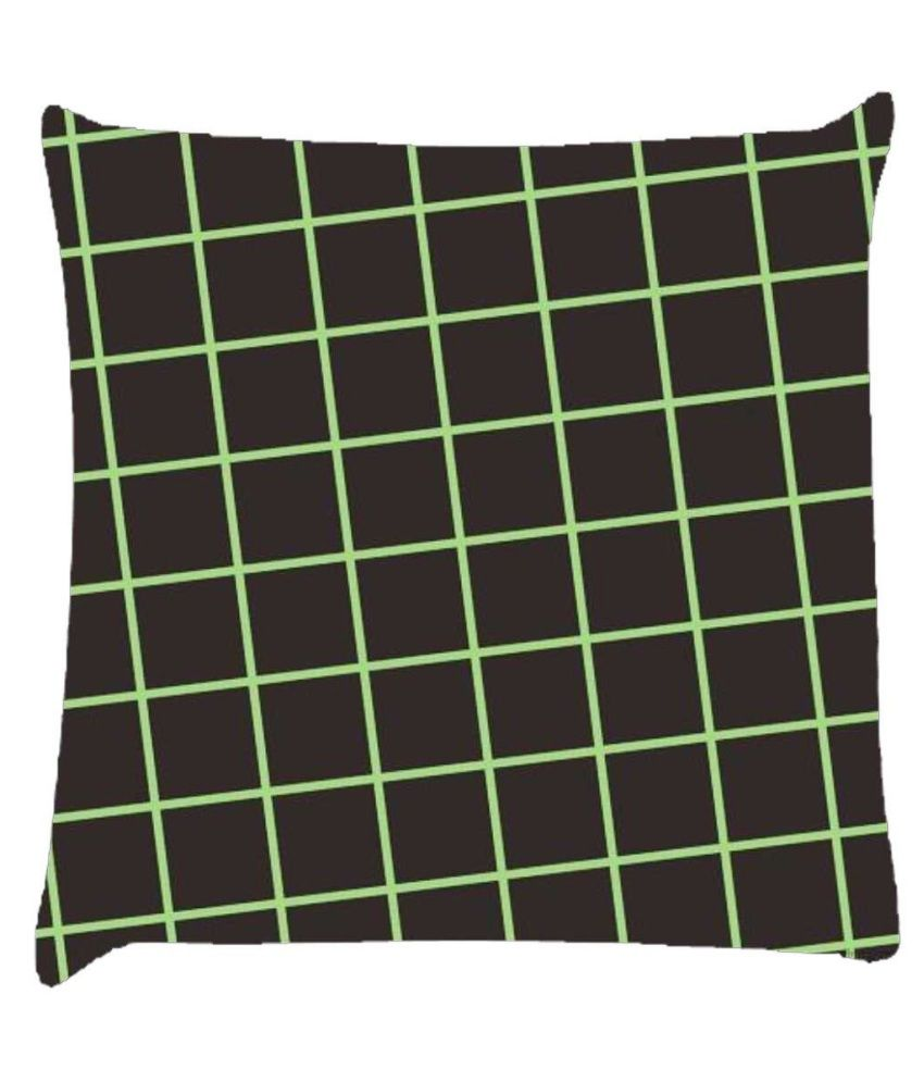Snoogg Chequered Pattern Design 1588 Cushion Cover