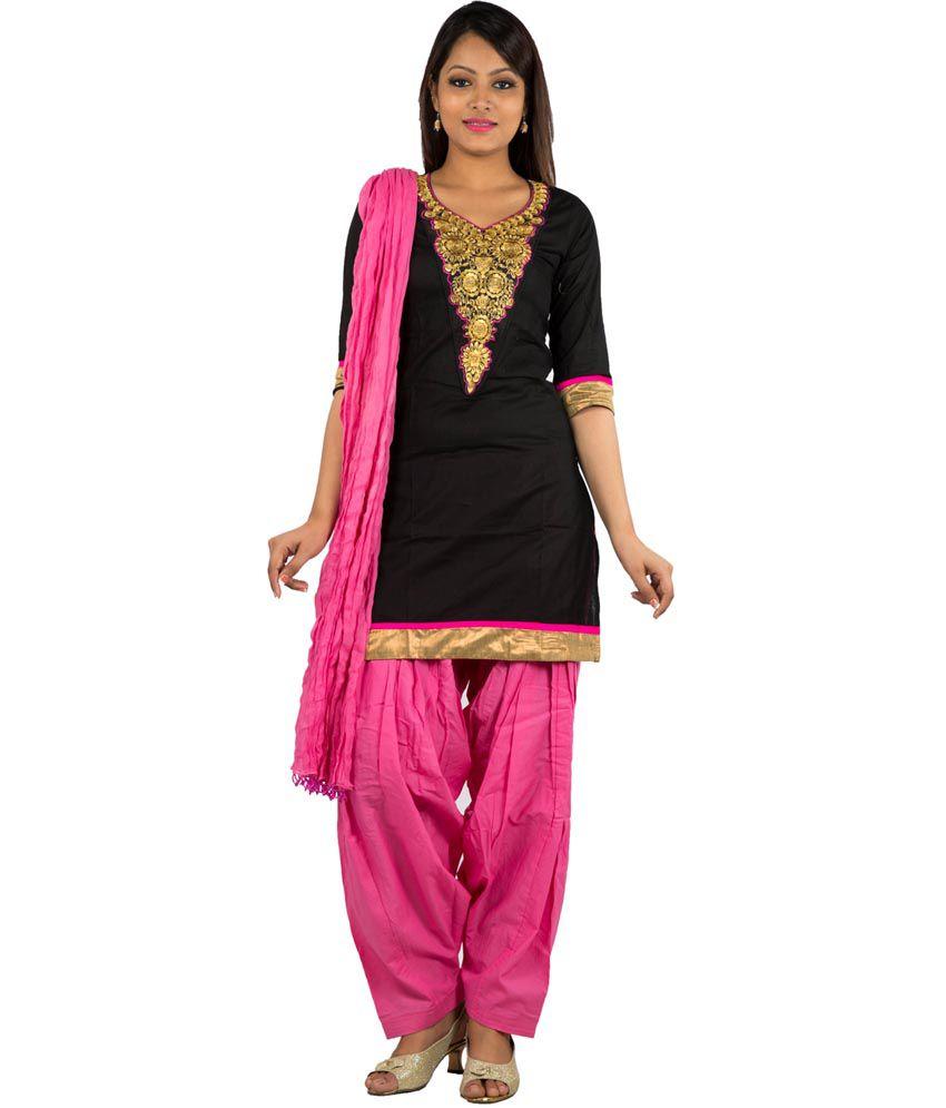 e7f54b85d5 Jaipur Kurti Cotton Kurti With Patiala - Stitched Suit - Buy Jaipur Kurti  Cotton Kurti With Patiala - Stitched Suit Online at Low Price - Snapdeal.com