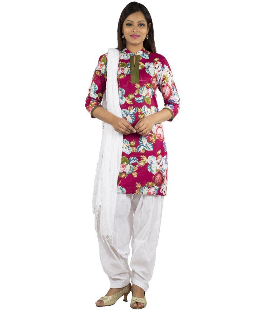 a34e3d372 Jaipur Kurti Cotton Kurti With Patiala - Stitched Suit - Buy Jaipur Kurti  Cotton Kurti With Patiala - Stitched Suit Online at Low Price - Snapdeal.com