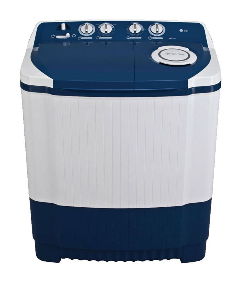 LG 6.5 Kg P7556R3FA Semi Automatic Top Load Washing Machine Dark Blue