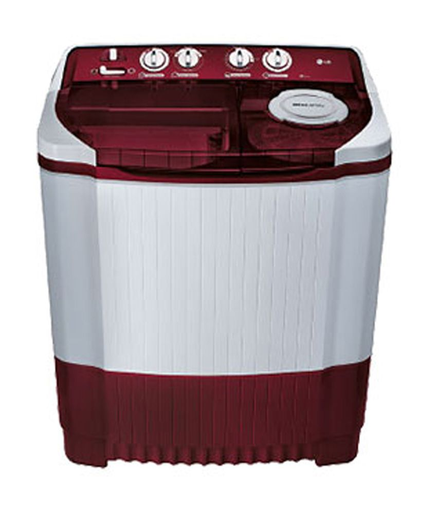 LG 7.2 Kg P8239R3SA Semi Automatic Top Load Washing Machine Burgundy