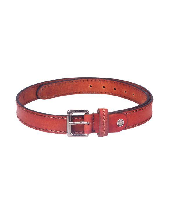 Ligans NY Men's Leather Belt