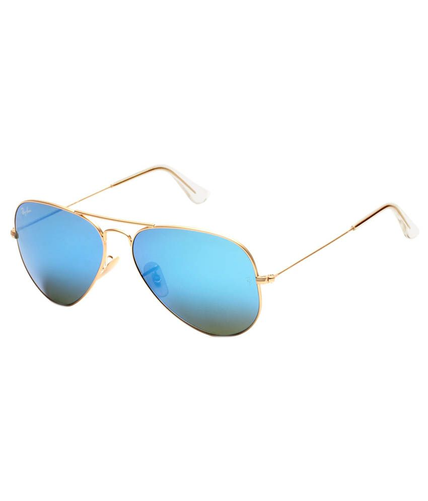 Ray-Ban RB3025 112 19 Mirrored Aviator Size 58 UV Protection Sunglasses -  Buy Ray-Ban RB3025 112 19 Mirrored Aviator Size 58 UV Protection Sunglasses  Online ... 2a23046e01b