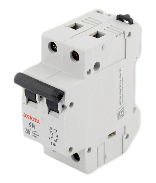 Buy Axiom White Twoway Centre Off Changeover Switch Online at Low