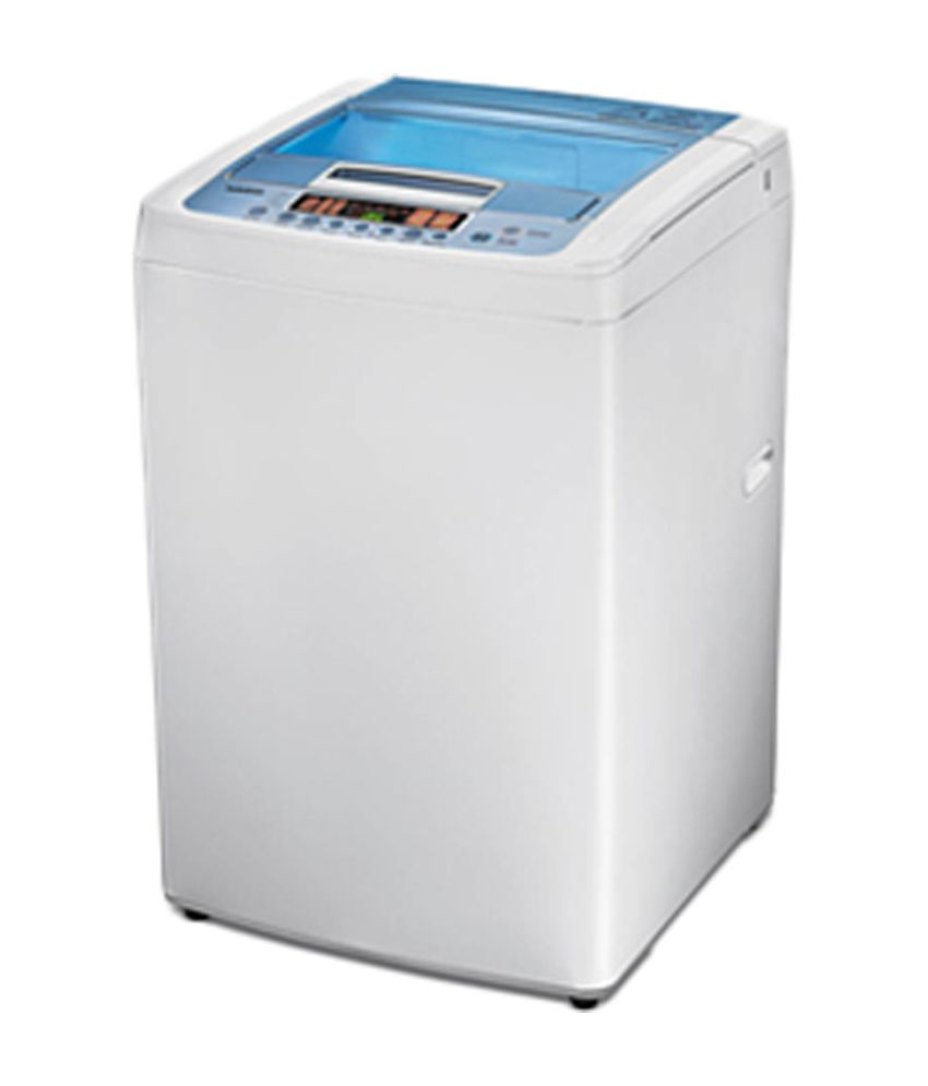 LG 6.5 Kg T7508TEDLL Fully Automatic Top Load Washing Machine Cool Grey/Marine Blue