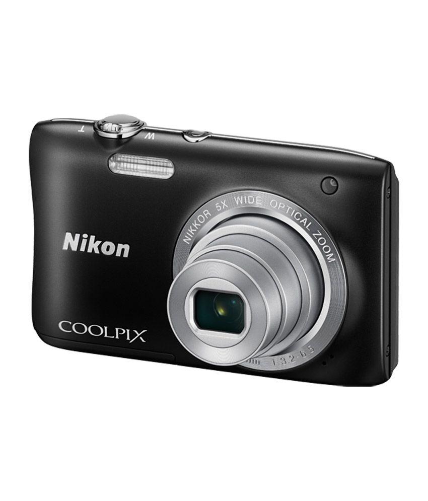 nikon coolpix s2900 20.1 megapixal compact digital camera - red
