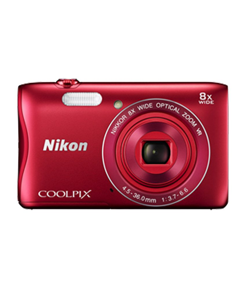 nikon coolpix s3700 20.1mp point and shoot digital camera (blue) with 8x zoom