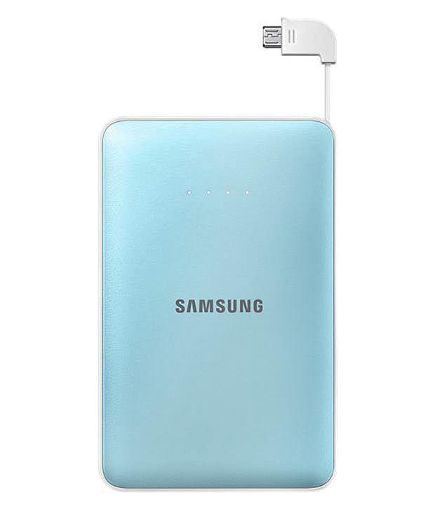 Samsung Power Bank EB-PN915BLEGIN USB Portable Power Supply 11300 mAh (Blue)
