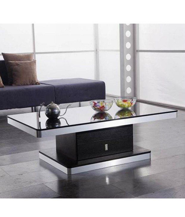 Dream Furniture Brown Rectangle Shape Center Table - Buy ...