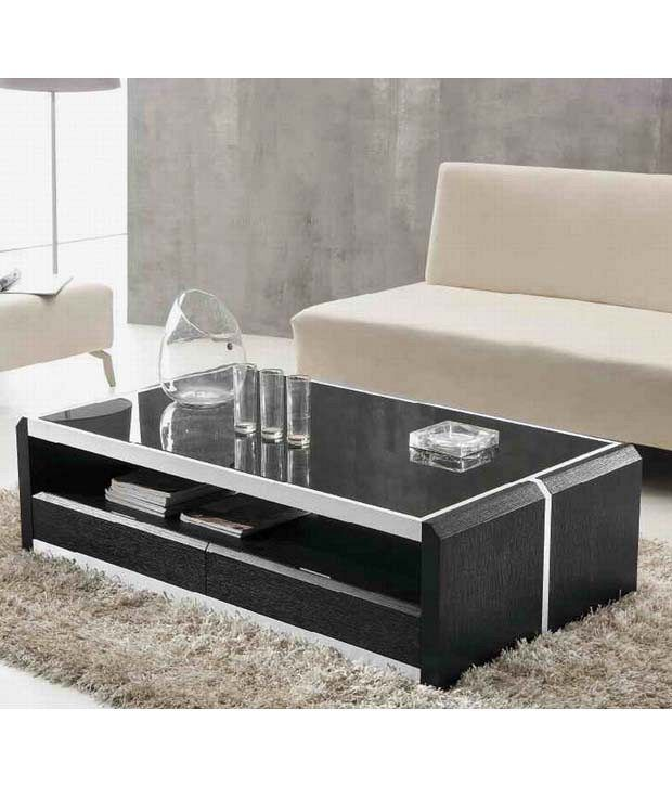 Furniture With Prices: Buy Center Table In Black Online