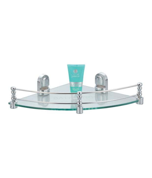 Buy Kamal Glass Shelf Eco - Corner 12 Inch Online at Low Price in ...