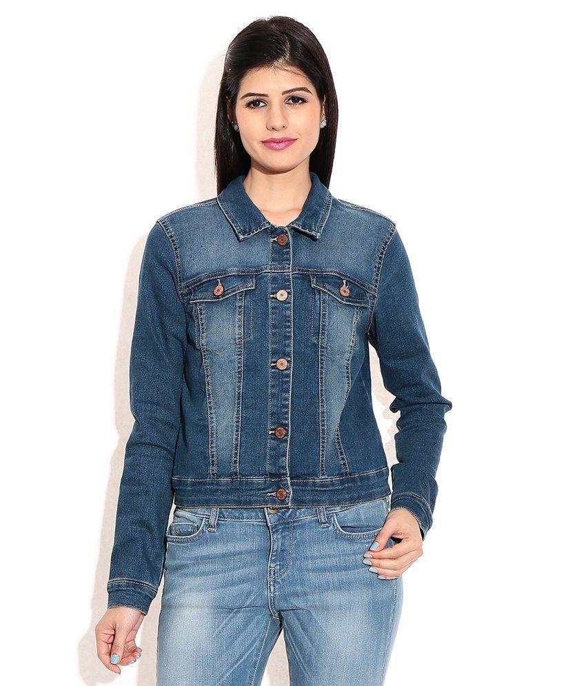 best authentic 254db e7393 Vero Moda Blue Denim Jacket
