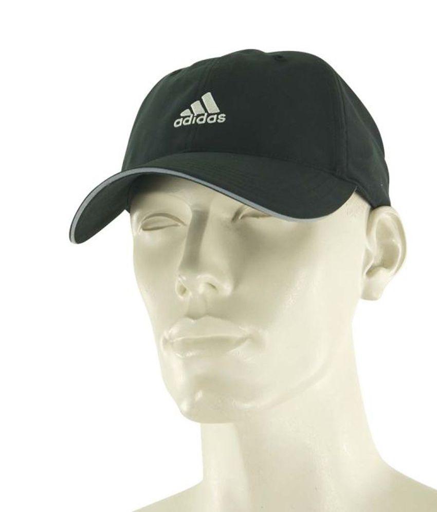 Adidas Black Cotton Summer Tennis Cap For Men - Buy Online   Rs ... 6a40bb3c2ace