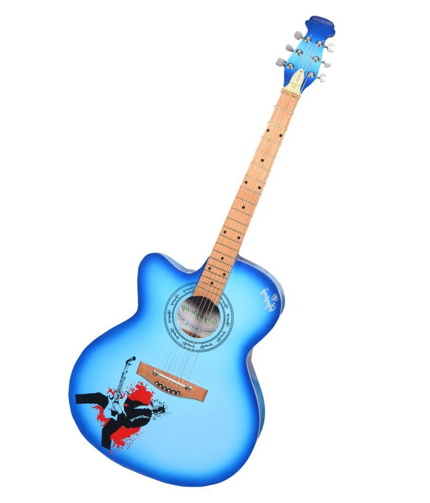 Symphony Venus Blue Acoustic Guitars