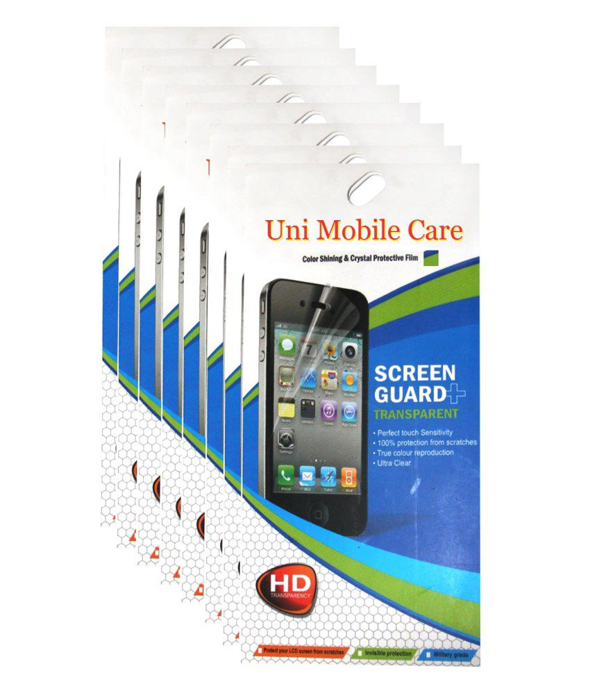 Uni Mobile Care Samsung Galaxy Grand I9082 Matte Screen Guard Protector (Pack Of 8 )