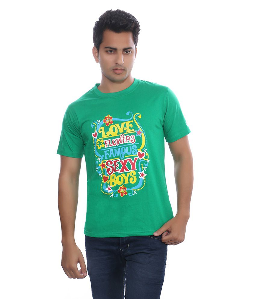 Fabilano Green Cotton T-Shirt