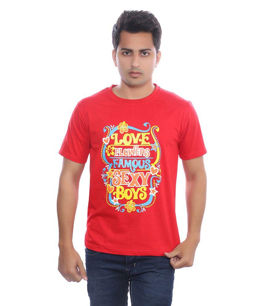 Fabilano Red Cotton T-Shirt