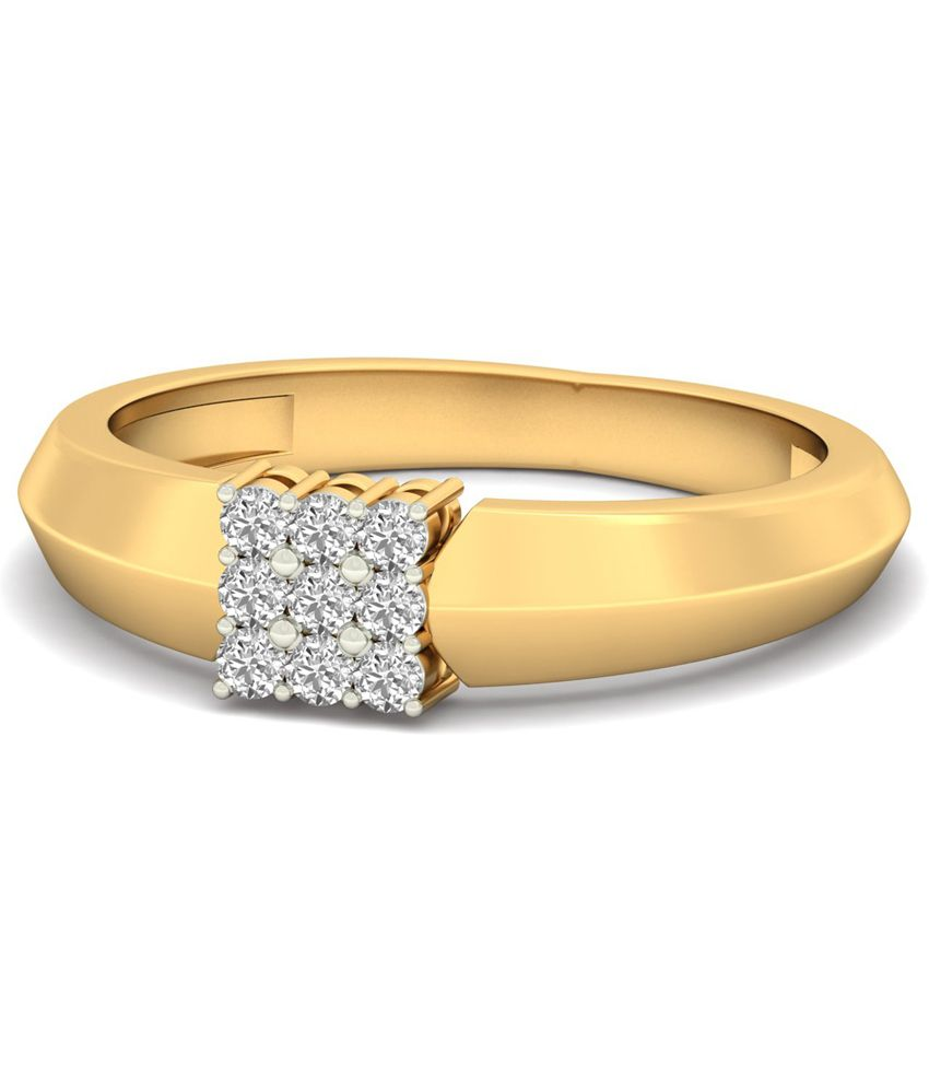45d1accce3264 WearYourShine PC Jeweller 18KT Gold The Cave Diamond Ring