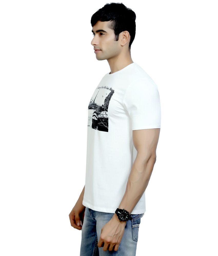 Design Classics Cotton Printed Men T Shirt