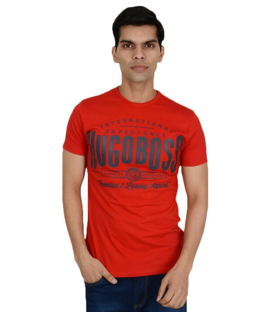 Gant Red Cotton Blend Men's T shirt