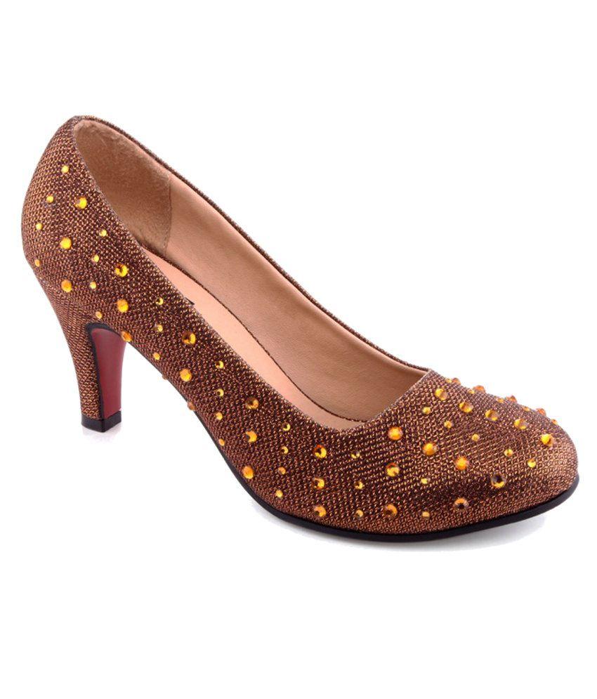 Kielz Brown Stiletto Heels