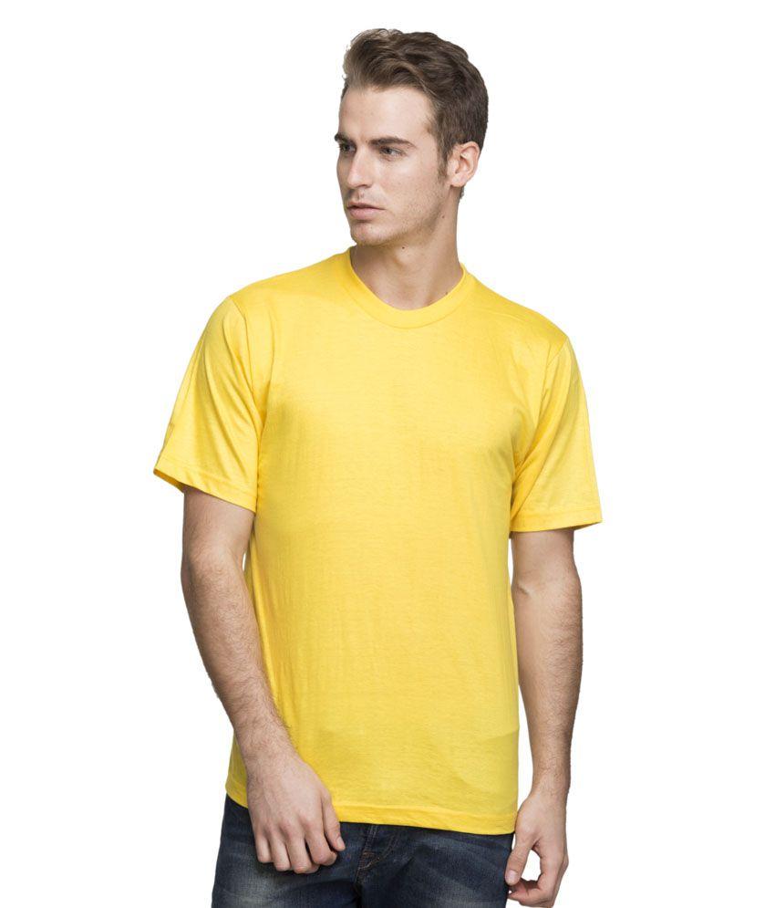 Lambency Round Neck Cotton Tshirt