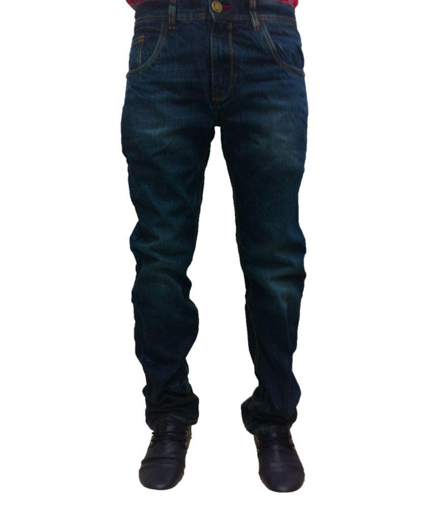 Levi's Blue Cotton Blend Jeans