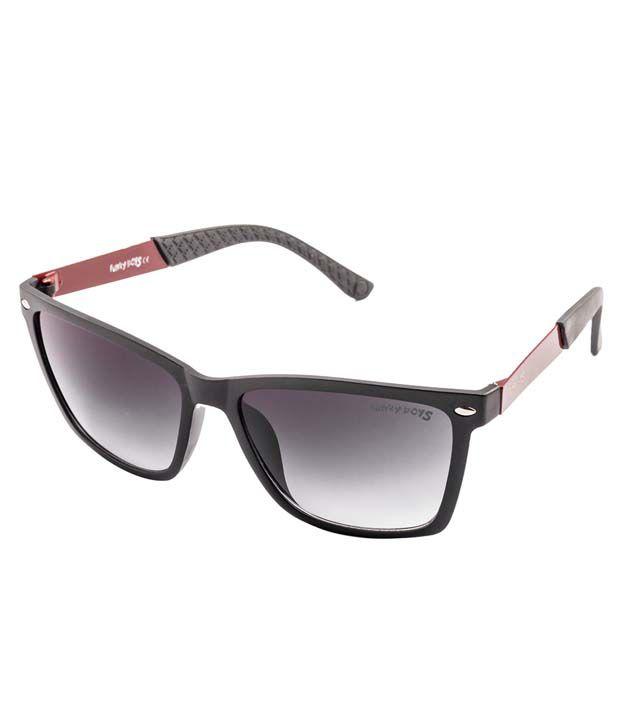 Funky Boys SOC-FB-1027-C3 Grey Wayfarer Non Metal Sunglasses