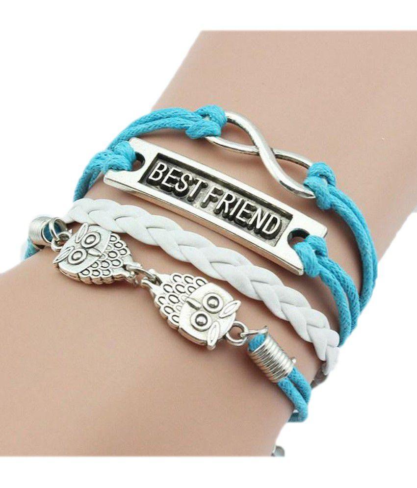 Muxyn Blue Charm Bracelet