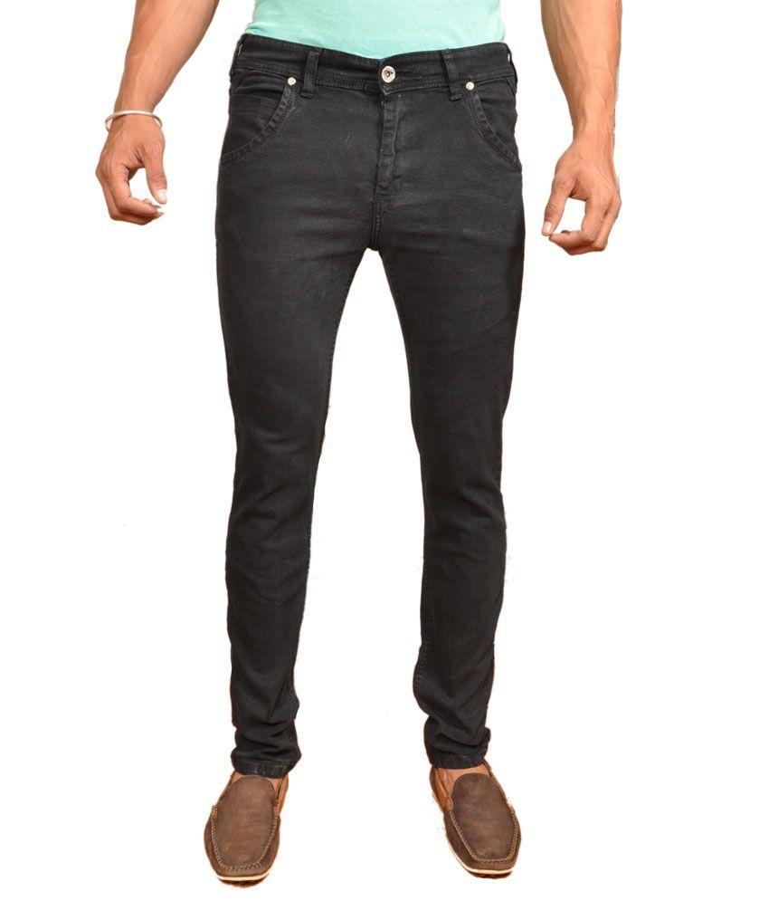 Pepe Jeans Jeans London Slim Fit Lycra Black Jeans For Men
