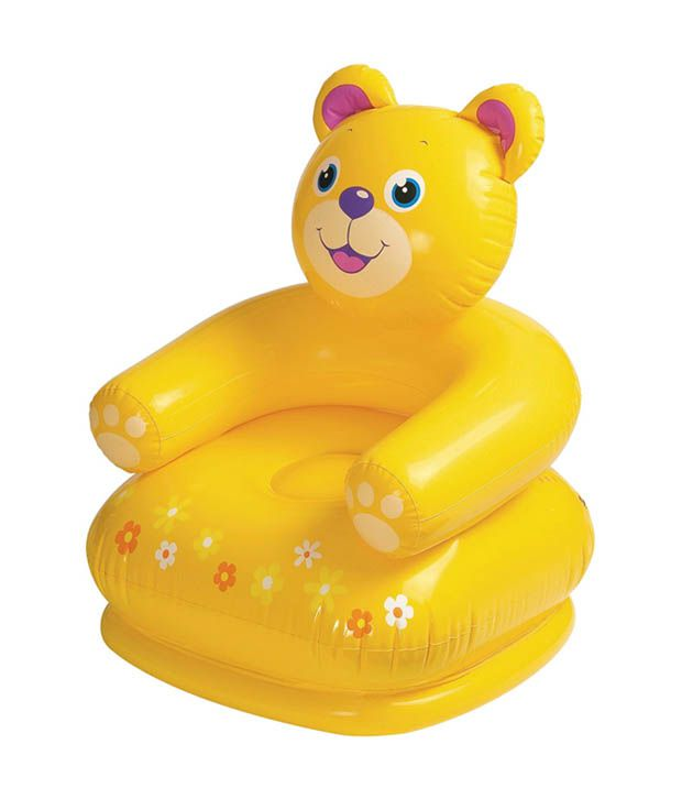 Intex Inflatable Intex Air Toy Teddy Chair for Baby