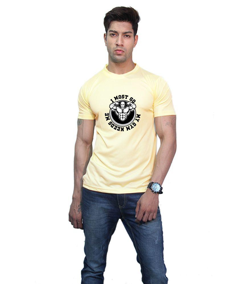 Printland Effit Must Do Yellow T Shirt