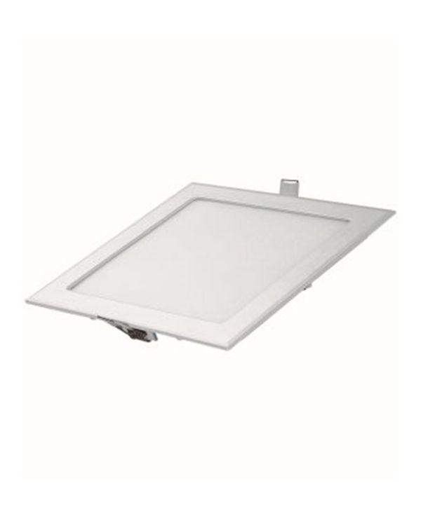 Rajshree 18 Watt Square Worm White Led Panel Light: Buy Rajshree 18