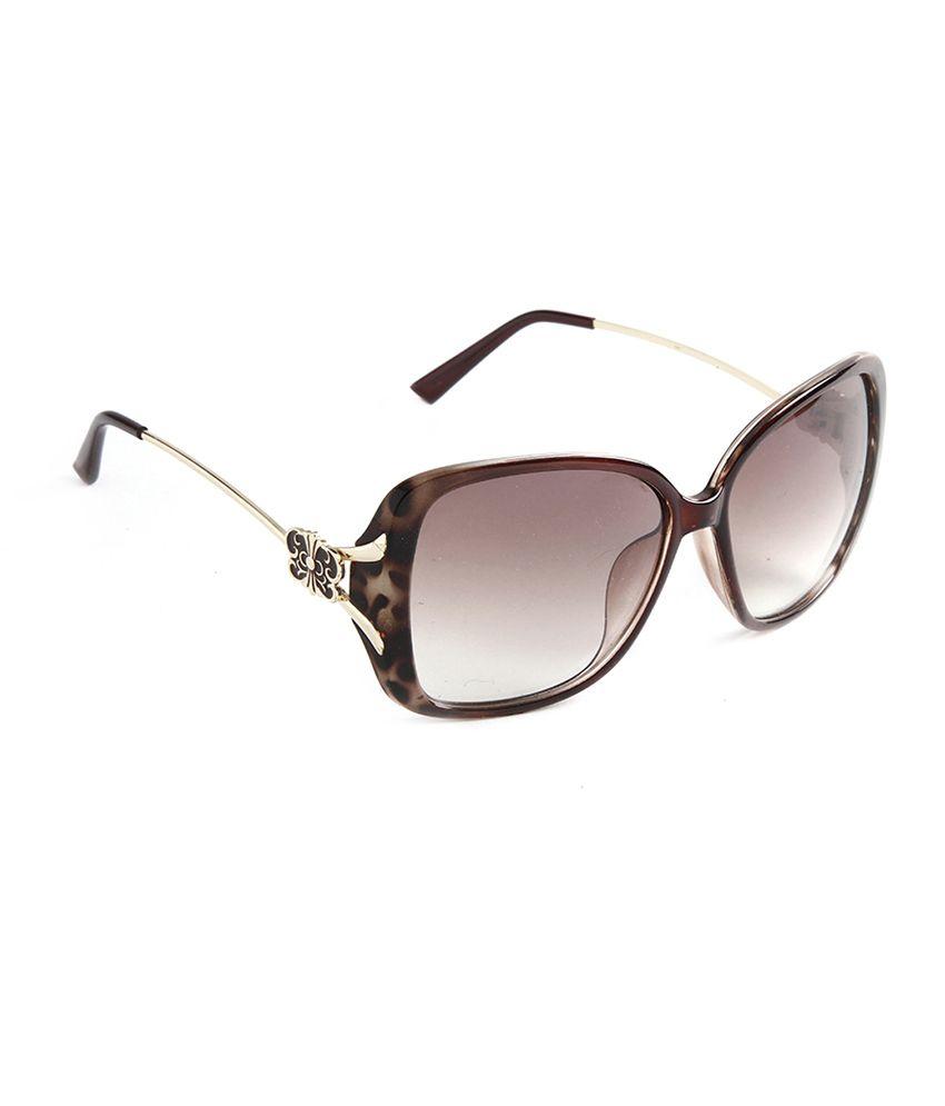 Stol'n 1606-2 Brown Wayfarer Sunglasses for Women
