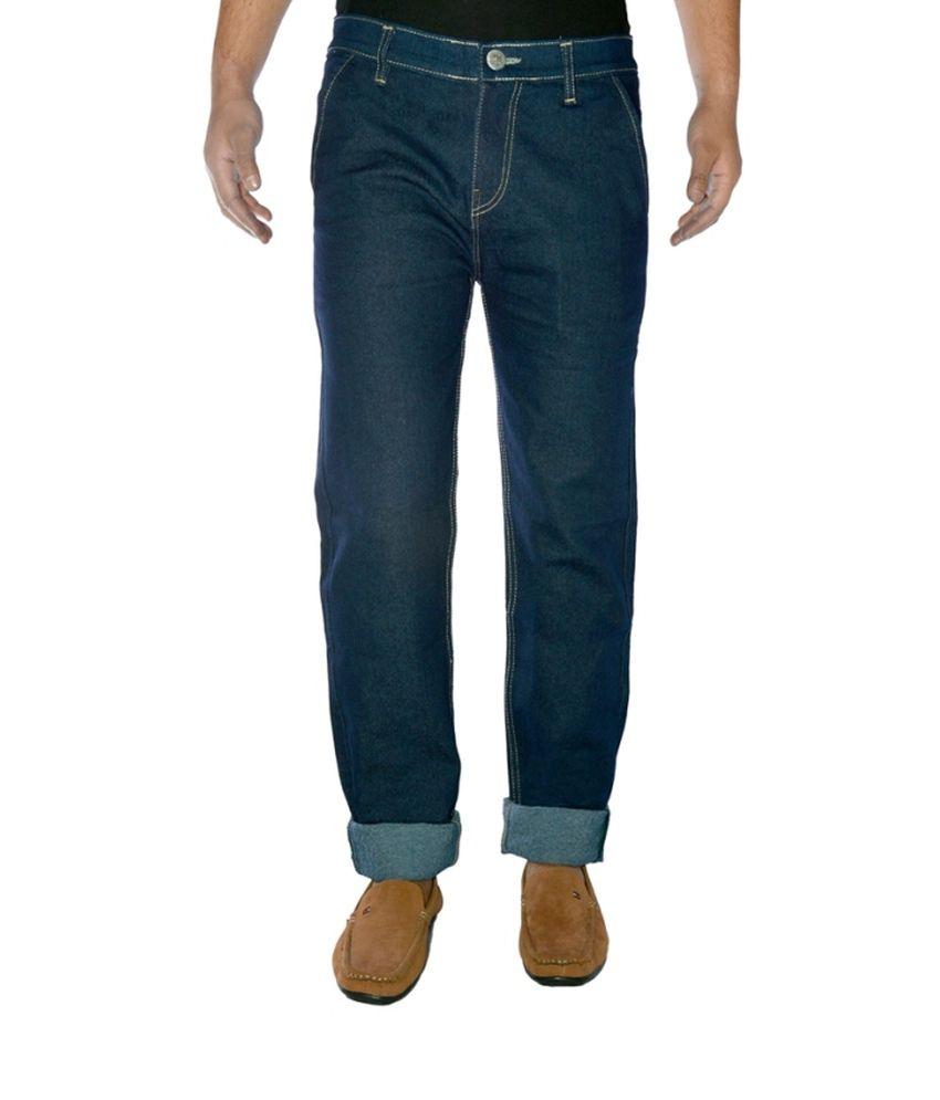 Western Texas 96 Blue Cotton Regular Jeans