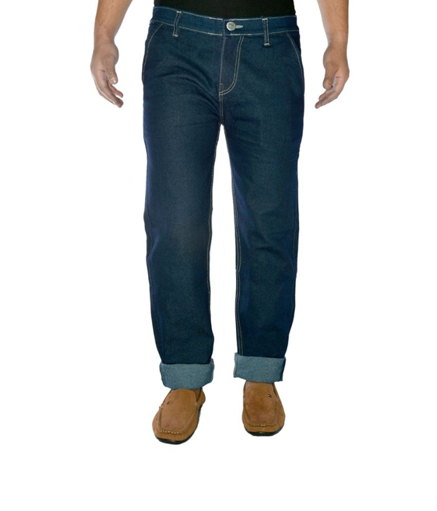 Western Texas 96 Blue Cotton Regular Jeans