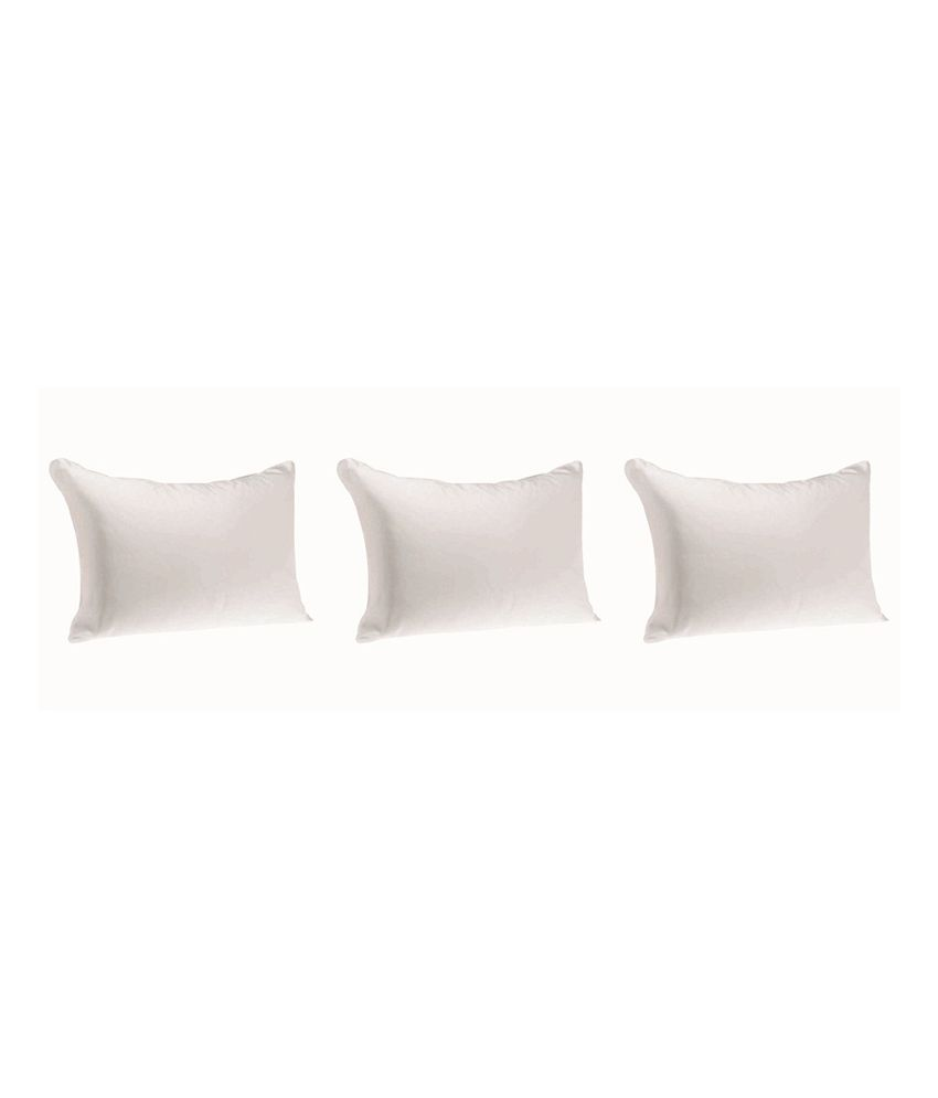 Jdx 3d Conjugate Hollow Fibre Very Soft Pillow Set Of 3