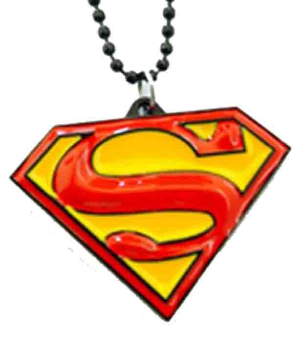 Scooter Stylish Men Superman Pendant Metal Chain Buy Online At Low