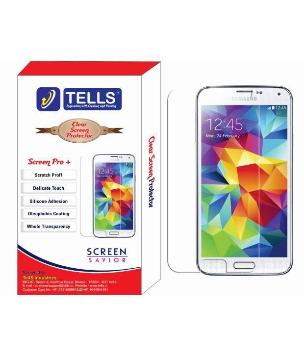 Samsung Galaxy Note 3 Clear  Screen Guard by Tells