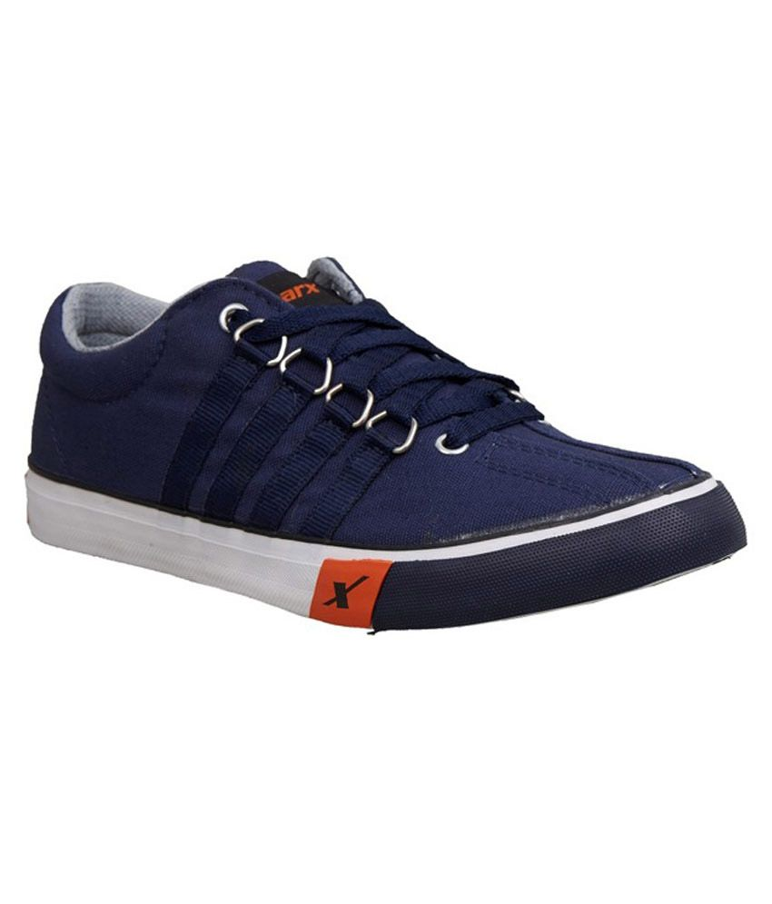 sparx blue canvas shoes sco162gnblue buy sparx blue