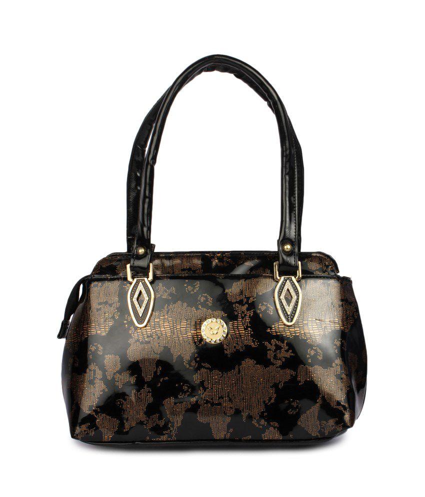 Maiden Black Shoulder Bags