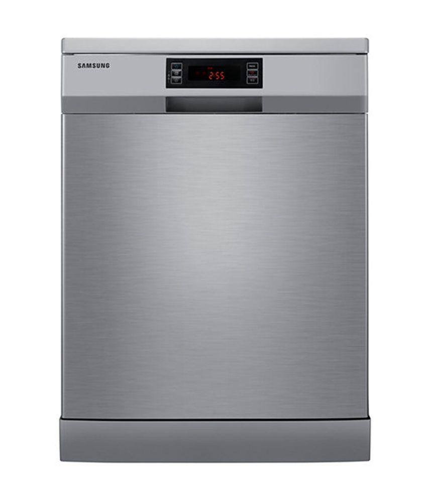 Samsung 12 Ltr DW-FN320T Dish Washer - Platinum Inox