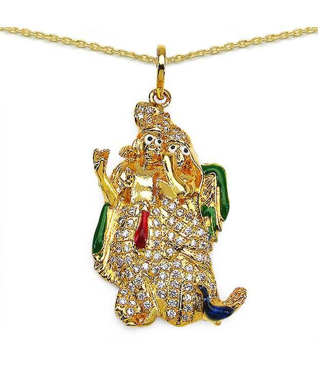 Shraddha golden radha krishna pendant buy online at low price in shraddha golden radha krishna pendant shraddha golden radha krishna pendant aloadofball Gallery