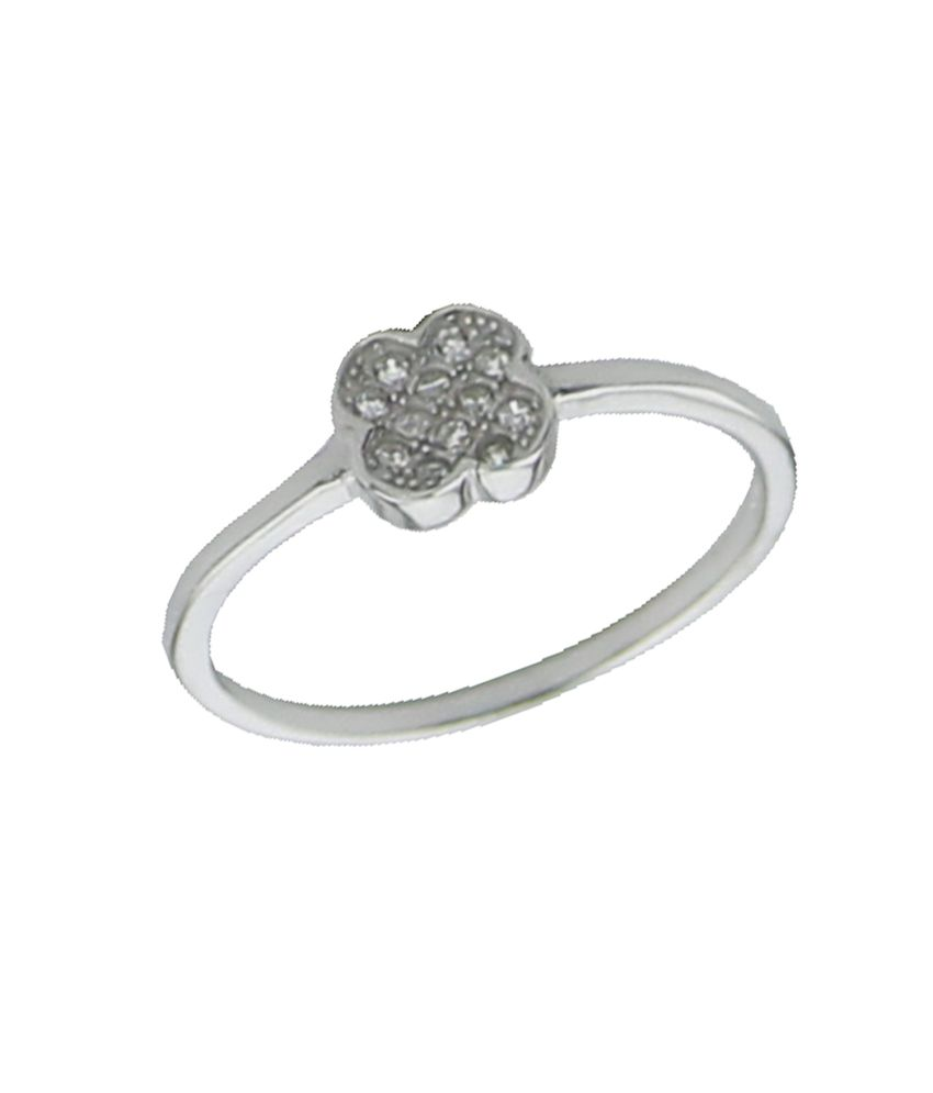 Youbella 92.5 Sterling Silver Ring For Women