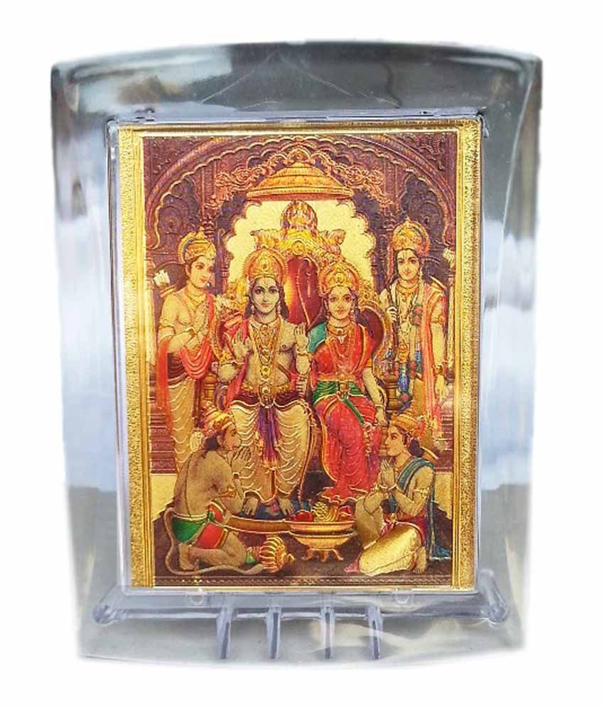 bfda605e9ef2 Gold Art 4 U Gold Foil Ram God Image With Frame  Buy Gold Art 4 U Gold Foil  Ram God Image With Frame at Best Price in India on Snapdeal