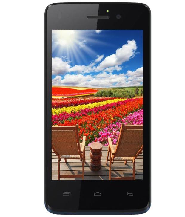 Intex Aqua N7 Midnight Blue Smartphone