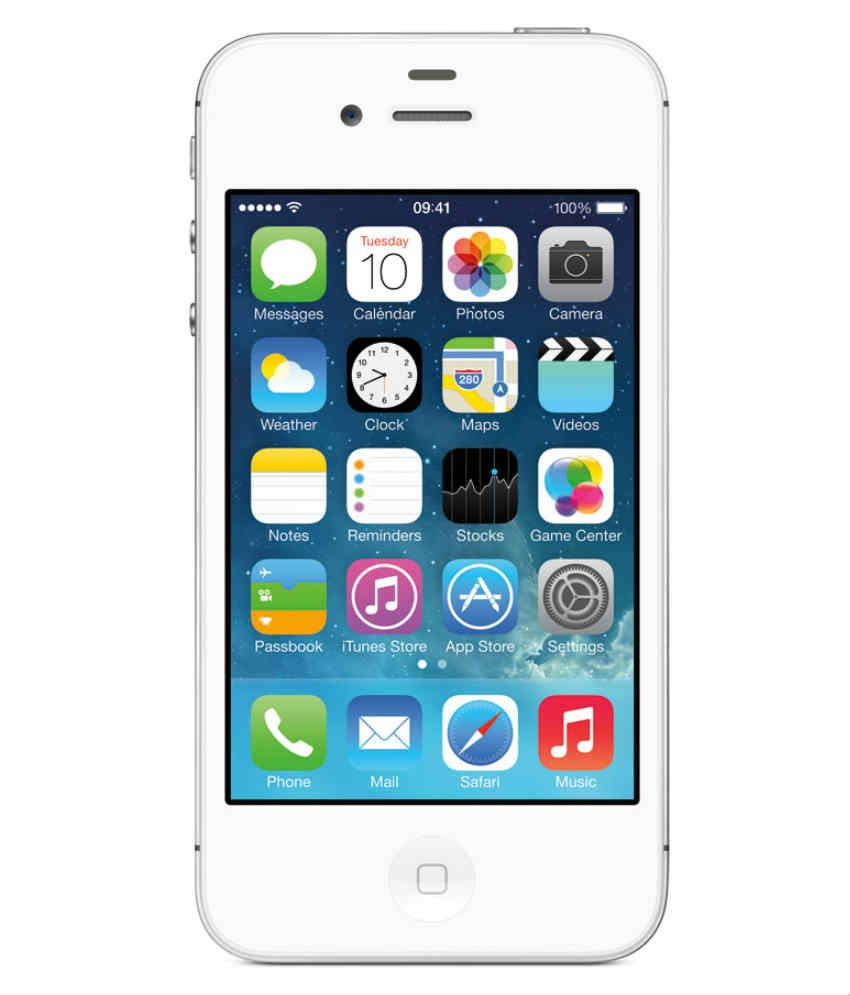 Apple iPhone 4S 8 GB Mobile Phone (White)