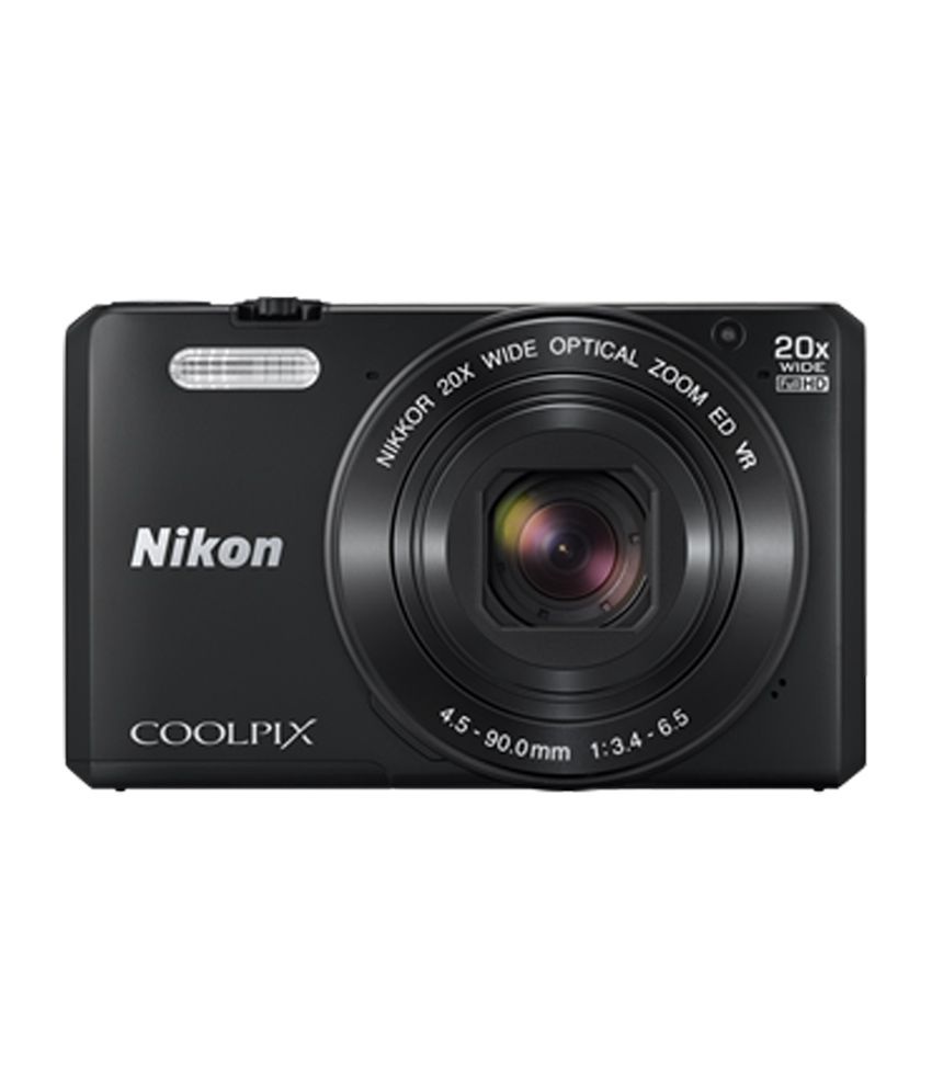 nikon coolpix s7000 point & shoot digital camera (pink) with 20x optical zoom