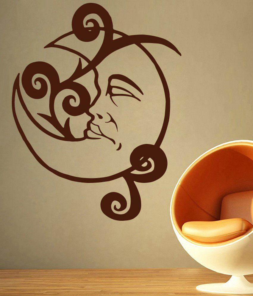 Decor Kafe Baby Moon Wall Sticker - Buy Decor Kafe Baby Moon Wall ...