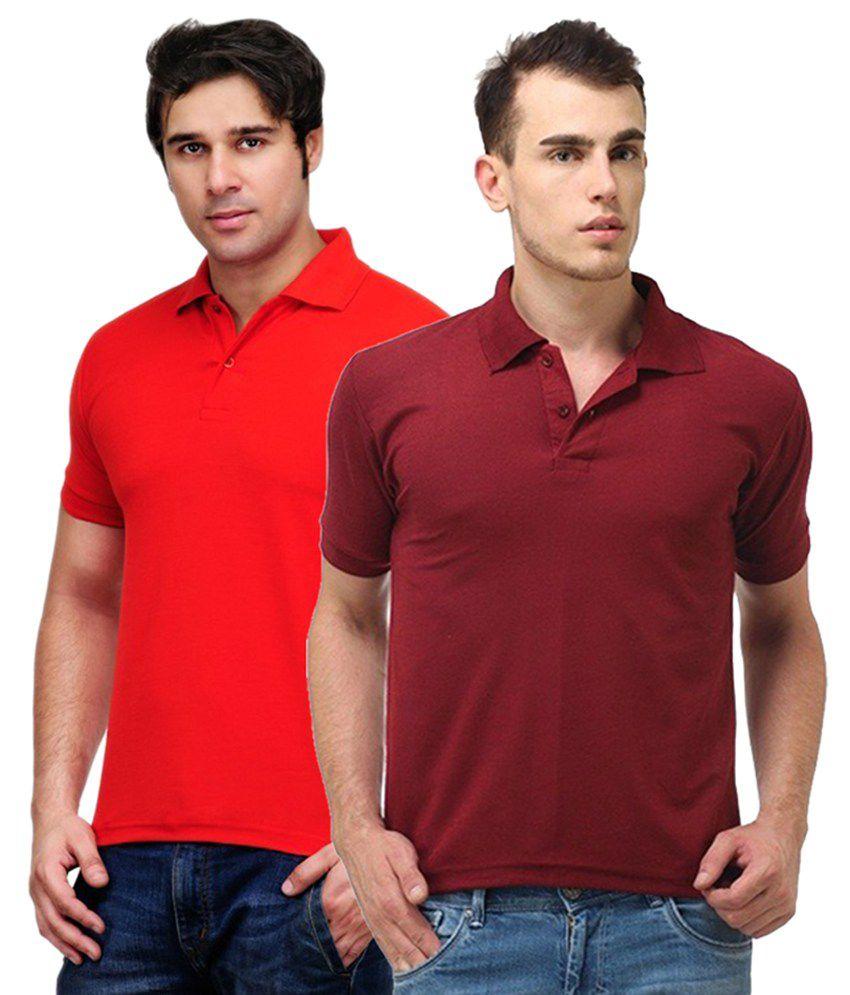 Rakshita's Collection Cotton T- Shirt (SET OF 2)